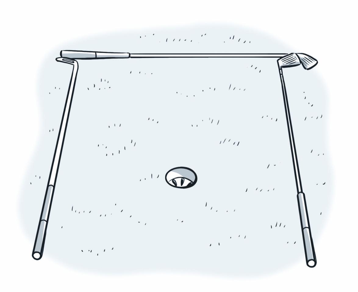 I Putt Lunghi - Campo Pratica by Gianni Davico  Pace-putting